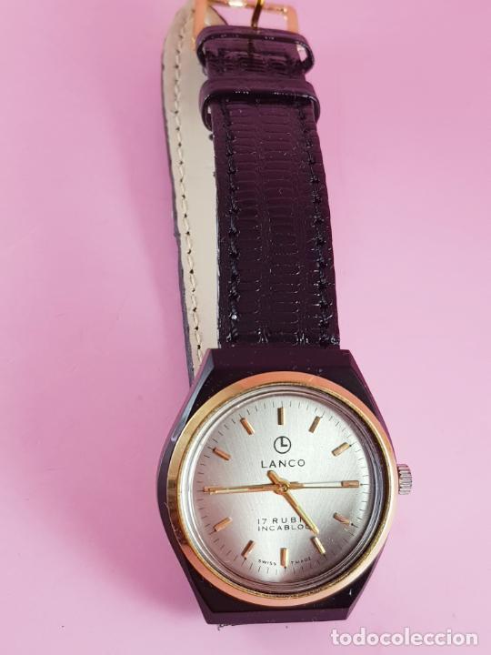 Relojes: ANTIGUO RELOJ-SUIZO-LANCO-FUNCIONANDO PERFECTAMENTE-VER FOTOS. - Foto 20 - 53557518