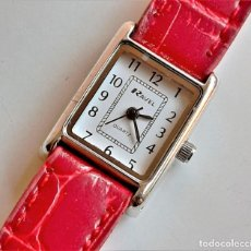 Relógios: RELOJ REVEL QUARTZ - CAJA DE 20 X 20.MM. Lote 210253265