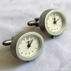 Relojes: GEMELOS RELOJ MARCA BALVI, SIN PILA. Lote 210399302