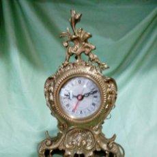 Relógios: RELOJ DE SOBREMESA EN BRONCE. Lote 210485687