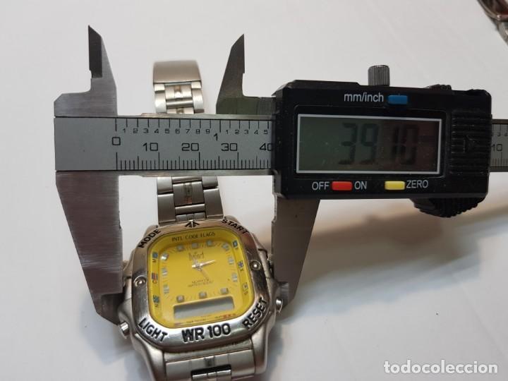 Relojes: Reloj Dumont Analogico Digital 1st Sub esfera amarilla - Foto 4 - 210962426