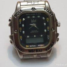 Relojes: RELOJ DUMONT ANALOGICO DIGITAL 1ST SUB ESFERA NEGRA. Lote 210962797