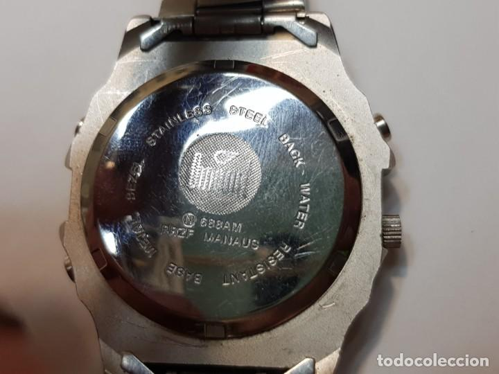 Relojes: Reloj Dumont Analogico Digital 1st Sub esfera negra - Foto 2 - 210962797