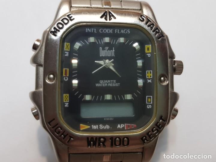 Relojes: Reloj Dumont Analogico Digital 1st Sub esfera negra - Foto 3 - 210962797