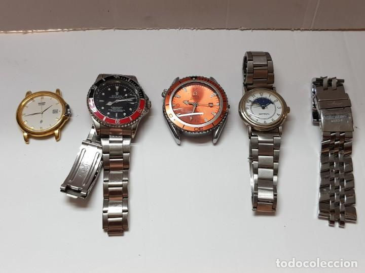 LOTE RELOJES ALGUNOS INTERESANTES AUTOMÁTICOS QUARZO (Relojes - Relojes Actuales - Otros)