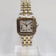 Relojes: RELOJ CARTIER PANTHÈRE 1100 CUARZO ACERO Y ORO. Lote 211457051