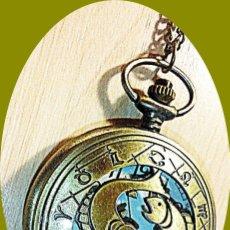 Relojes: RELOJ BOLSILLO HOROSCOPO PISCIS. Lote 211815765