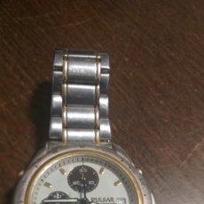 Relojes: PRECIOSO RELOJ PULSAR CRONOGRAFO CON CORREA METÁLICA. VER FOTOS.. Lote 212365410