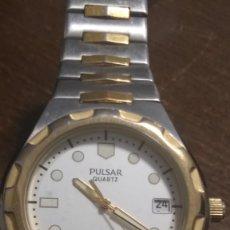 Relojes: PRECIOSO RELOJ PULSAR CON CORREA METALICA. VER FOTOS.. Lote 212365681