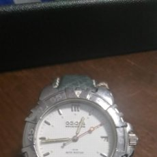 Relojes: PRECIOSO RELOJ ADIDAS CON CORREA DE CUERO PARA HOMBRES. VER FOTOS.. Lote 212365890