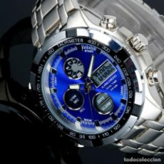 Relojes: RELOJ DUAL TIME ALARMA CRONOGRAFO NUEVO. Lote 254658330