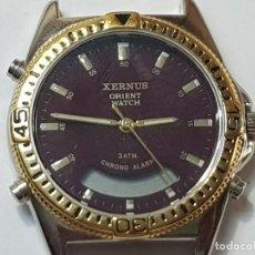 Relojes: RELOJ ANALÓGICO DIGITAL CABALLERO XERNUS ORIENT WATCH. Lote 212864052