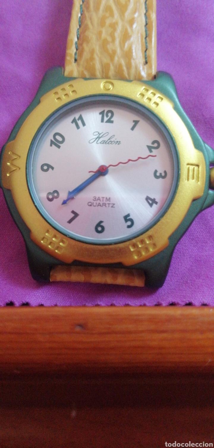 Relojes: RELOJ DE PULSERA MARCA HALCÓN 3ATM QUARTZ - Foto 2 - 212962293