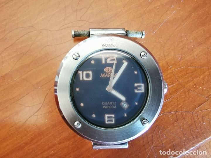 RELOJ DE QUARTZ MAREA WR 100 M, FUNCIONANDO 4,5 CM SIN CORONA (Relojes - Relojes Actuales - Otros)