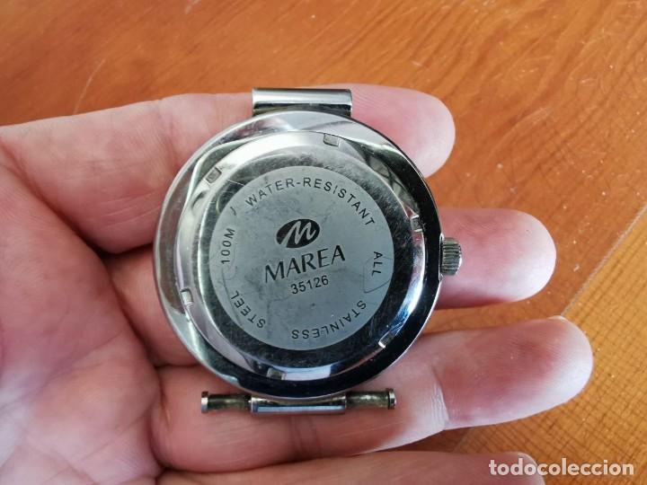 Relojes: RELOJ DE QUARTZ MAREA WR 100 M, FUNCIONANDO 4,5 CM SIN CORONA - Foto 4 - 213081095