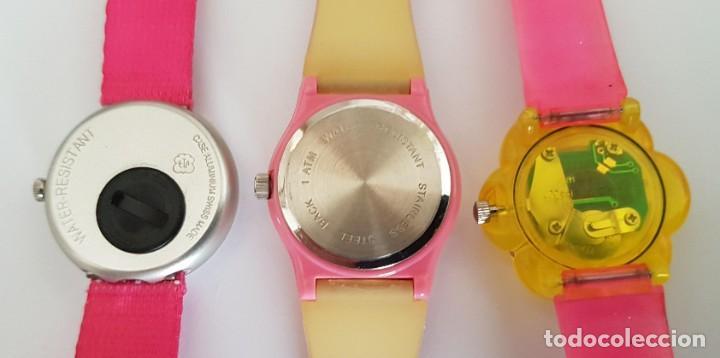 Relojes: LOTE DE RELOJES DE NIÑA, BARBIE Y OTROS * NECESITAN BATERIA - Foto 3 - 213238077
