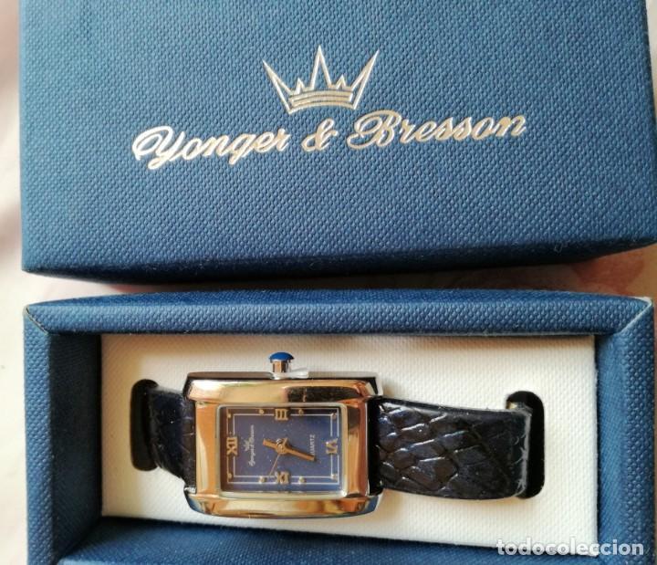 Relojes: RELOJ DE DAMA de la casa francesa YONGER & BRESSON en su CAJA - Foto 3 - 213432865