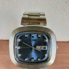 Relojes: RELOJ CABALLERO (VINTAGE) ORIENT AUTOMÁTICO ACERO CON DOBLE CALENDARIO, CORREA ACERO, TODO ORIGINAL.. Lote 213233781