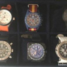Relojes: COLECCIÓN DE 6 RELOJES DE CUARZO. NUEVOS SIN USAR EN ESTUCHE. EDICIÓN LIMITADA.. Lote 213733302