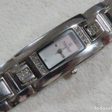 Relojes: PRECIOSO RELOJ ANGELO MILANO CON 24 DIAMANTES GENUINOS Y ESFERA DE NACAR, NUEVO A ESTRENAR. Lote 213779042