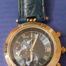 Relojes: RELOJ CRONO DAKAR SILVER- CUERPO DE PLATA DE LEY 925 ( FUNCIONANDO ). Lote 213799835