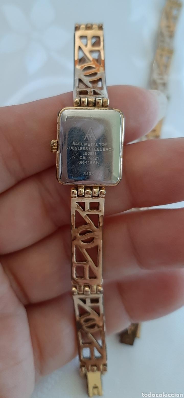 Relojes: Reloj y pulsera vintage set de mujer, Accurist LB 5631 CAL. 5R21 en caja original funcionado. 16 cm. - Foto 5 - 214262385