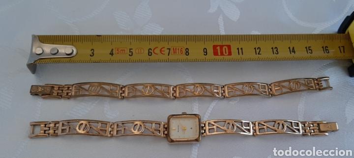 Relojes: Reloj y pulsera vintage set de mujer, Accurist LB 5631 CAL. 5R21 en caja original funcionado. 16 cm. - Foto 7 - 214262385