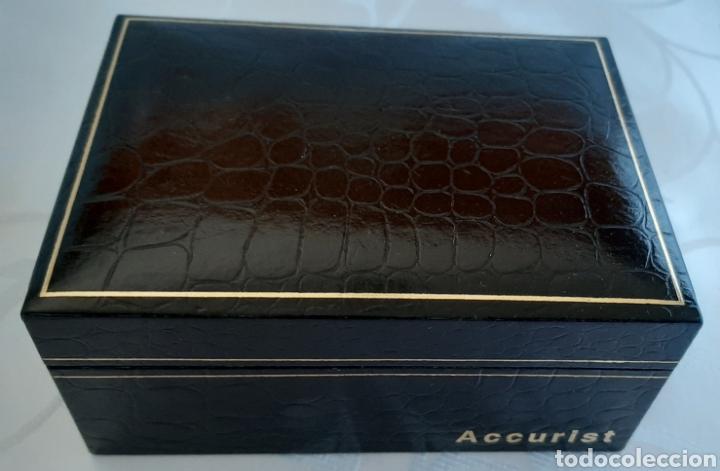 Relojes: Reloj y pulsera vintage set de mujer, Accurist LB 5631 CAL. 5R21 en caja original funcionado. 16 cm. - Foto 9 - 214262385