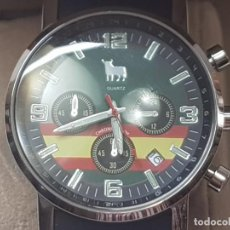 Relojes: RELOJ CABALLERO TORO WATCH EDICION ESPECIAL NUMERADO EN CAJA MADERA ORIGINAL. Lote 214484305