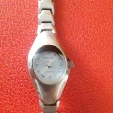 Relojes: RELOJ GUCCI DE QWARTZ TOTALMENTE DE ACERO.. Lote 215086188