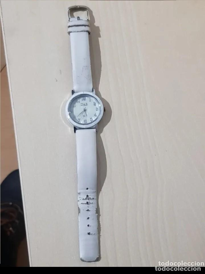 Relojes: BONITO RELOJ DE MUJER, MARCA G & B TIME, COLOR BLANCO. - Foto 2 - 215137491