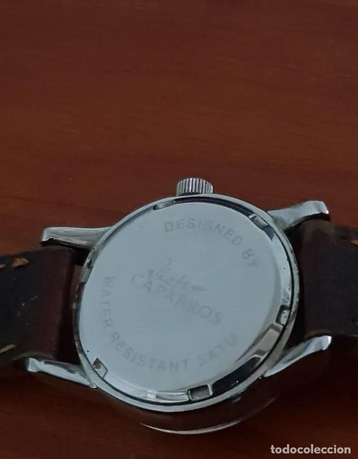 Relojes: ELEGANTE RELOJ VINTAGE DE MUJER, MARCA VICTOR CAPARROS, CORREA EN PIEL ORIGINAL - Foto 2 - 215143811