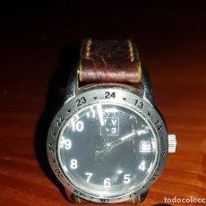 Relojes: ELEGANTE RELOJ VINTAGE DE MUJER, MARCA VICTOR CAPARROS, CORREA EN PIEL ORIGINAL. Lote 215143811