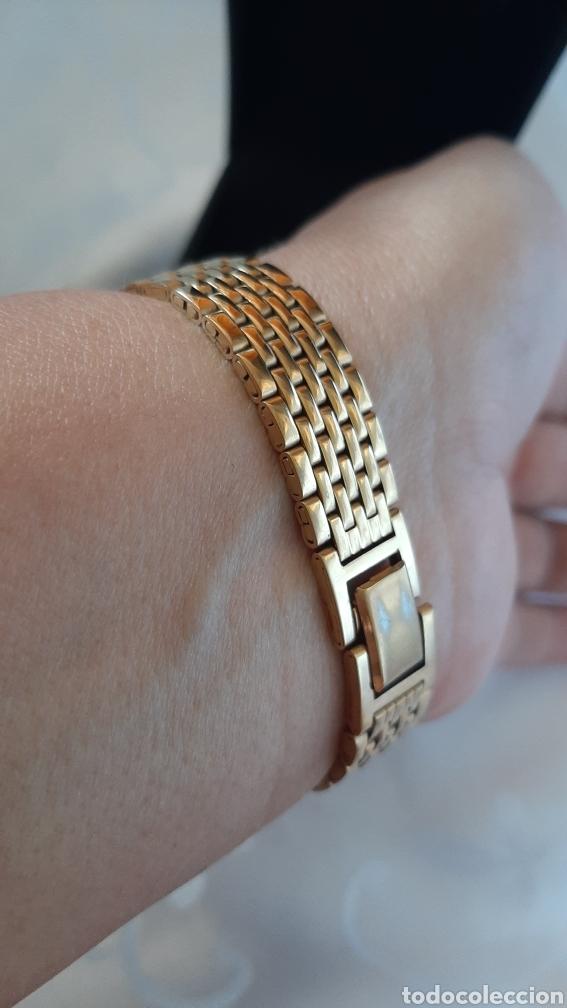 Relojes: Reloj vintage de mujer SEKONDA de Quartz. en caja original funcionado, color dorado. - Foto 8 - 215356046