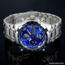 Relógios: RELOJ DUAL TIME ALARMA CRONOGRAFO. Lote 241793950