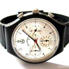 Relojes: EXCLUSIVO RELOJ PULSERA CRONOGRAFO DISEÑADO POR MERCEDES VER FOTOS. Lote 217106345