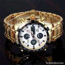 Relojes: RELOJ DUAL TIME CRONOGRAFO NUEVO. Lote 226943065