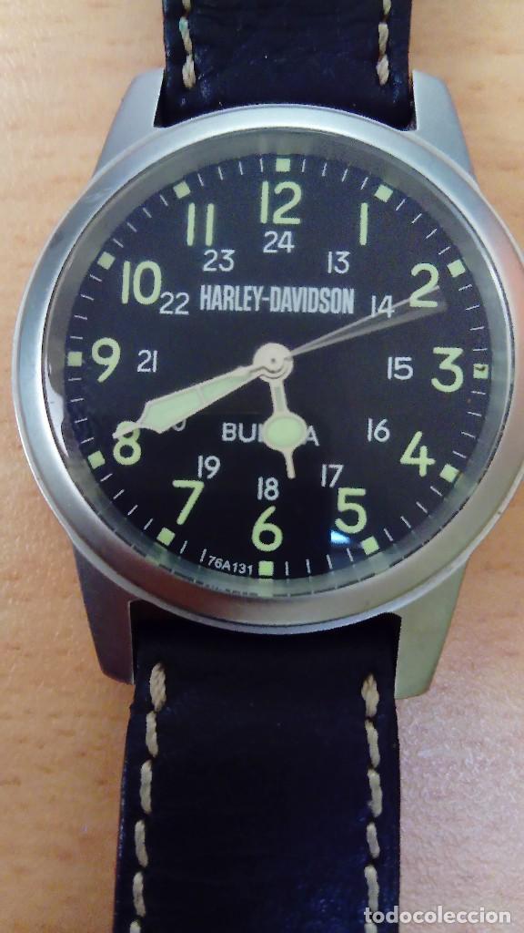 RELOJ HARLEY DAVIDSON BY BULOVA (Relojes - Relojes Actuales - Otros)