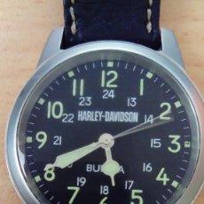 Relojes: RELOJ HARLEY DAVIDSON BY BULOVA. Lote 217927748