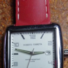 Relojes: RELOJ DE PULSERA MARCA ROBERTO TORRETTA. Lote 217940402