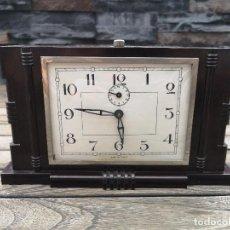 Relojes: RELOJ ART DECO DE BAKELITA HECHO EN FRANCIA. Lote 217993601