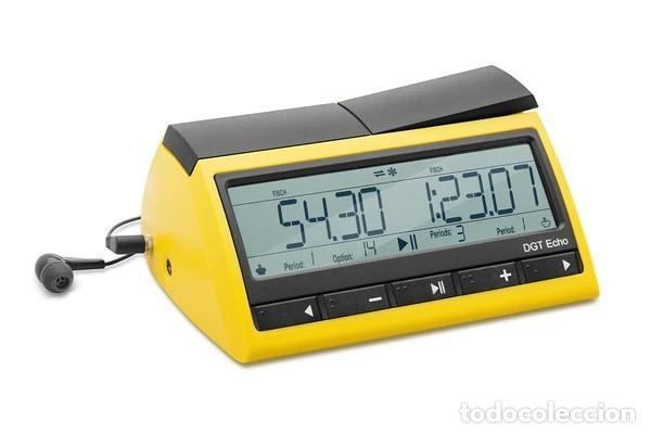 AJEDREZ.. DGT RELOJ DE AJEDREZ PARLANTE ECHO. ¡EL RELOJ QUE HABLA! - DIGITAL GAME TECHNOLOGY (Relojes - Relojes Actuales - Otros)