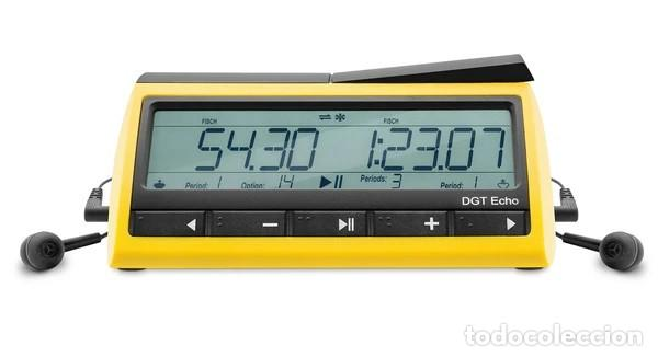 Relojes: Ajedrez.. DGT Reloj de ajedrez parlante Echo. ¡El reloj que habla! - Digital Game Technology - Foto 2 - 218005120