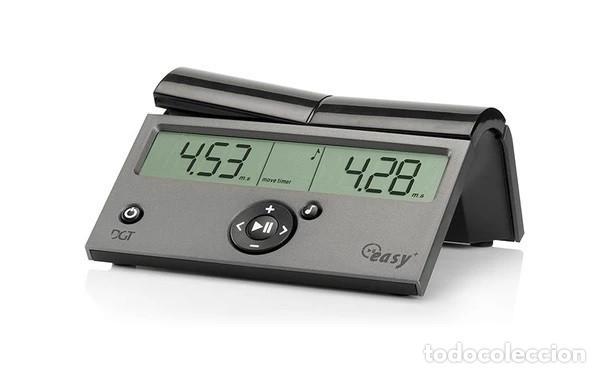 CHESS. DGT RELOJ DE AJEDREZ DIGITAL EASY PLUS - DIGITAL GAME TECHNOLOGY (Relojes - Relojes Actuales - Otros)
