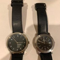 Relojes: DOS RELOJES MONDAINE Y BULOVA. Lote 218153588