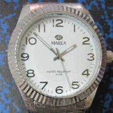 Relojes: RELOJ MAREA EN ACERO PULSERA ORIGINAL.FUNCIONANDO.PILA GASTADA. MUY BUEN ESTADO.DIAMETRO 39 MM. Lote 218188336