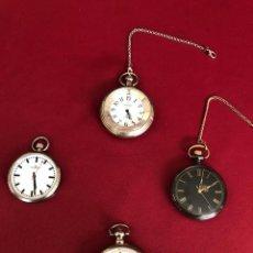 Orologi: LOTE DE 4 RELOJES DE BOLSILLO DE CUARZO. Lote 218300757