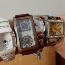 Relojes: 4 ORIGINALES RELOJES. Lote 218479067