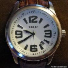Relojes: RELOJ PUBLICITARIO COLONIA TABAC-CALENDARIO. Lote 218717987