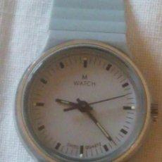 Relojes: RELOJ M-WATCH SWISS QUARTZ,1988. Lote 218855547